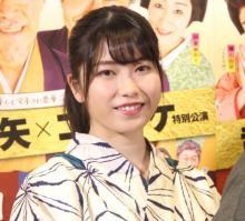 """AKB48横山由依、初時代劇""""博多弁""""に苦戦 「好いとう」に武田鉄矢からイジり"""