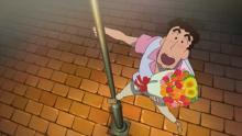 映画『クレしん』ひろし&みさえが愛の熱唱 福山雅治&MISIAの名曲を…