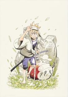 『NARUTO』岸本斉史氏の新連載『サムライ8』予告編、27日発売ジャンプに掲載