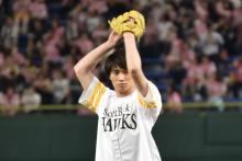 鈴木伸之、球速122キロで東京ドームにどよめき!人生初の始球式は「90点」