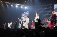 GENERATIONS VS RAMPAGEがサプライズバトル Jr.EXILE新プロジェクト新曲初披露