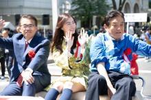 SKE48松井珠理奈が選挙公約を実現 名古屋でパレード「夢のようでした!」