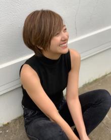 """元AAA・伊藤千晃、""""新鮮""""ショートカット姿に「Nissyに見えた」の声"""