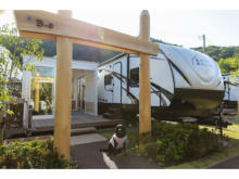 グランピング施設「Ufufu Village」にペット同伴サイトがOPEN!