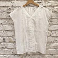 【 #今週のGU新作 】ちょい透け素材が夏っぽい。シンプルで長く使えるブラウスとスカートが登場!