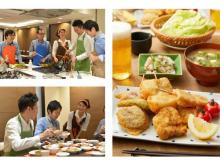 調理後はビールで乾杯!東京ガスが男性向け料理教室を開催