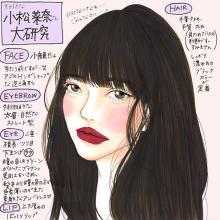 「小松菜奈ちゃんっぽい雰囲気だよね」唯一無二の存在感を目指す、アンニュイメイク方法♡