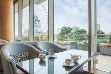 温かいブレンドティー付きなのがうれしい♡景色も楽しめる横浜ベイホテル東急の「かき氷」が今年もスタート