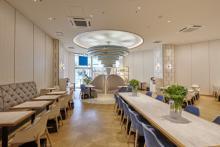 花束みたいなかわいすぎるパフェも♡サロン・ド・カフェ ラゾーナ川崎店の1周年記念メニューが魅力的♩