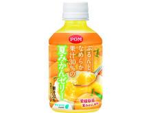 果汁30%使用の本物感!とろみがのどを潤す夏みかんゼリー飲料