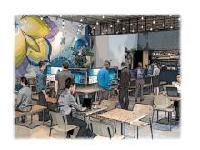 「デル」がビジネス向け製品を体験できる期間限定カフェをOPEN