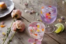 「花×食」がテーマのカフェが高円寺にOPEN♩ピンクのカレーにカラフルラテ、かわいいメニューがいっぱい♡