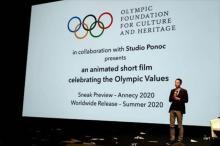 IOC、オリンピズムがテーマの短編アニメーション映画をスタジオポノックと共同制作