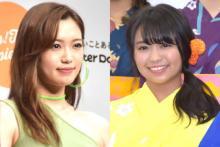 """E-Girls山口乃々華&大原優乃、元""""ピチモ""""コンビのプライベートショットにファン歓喜"""