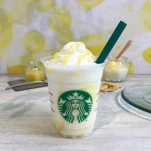 スタバ新作は「レモン ヨーグルト 発酵フラペチーノ」。爽やかな甘さにハマりそう♡