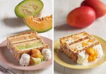 2種のメロン×国産マンゴーの贅沢仕立て♡キハチ青山本店限定・季節のパイシリーズに夏の新作が登場!