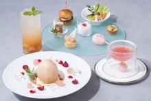 桃を丸ごと味わうメインスイーツつき♡ホテルメトロポリタンで「ピーチアフタヌーンティー」が7月スタート♩