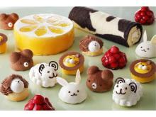 1日限定!可愛い動物モチーフのケーキが集まるバイキング