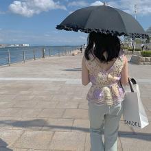 今年のUV対策、日焼け止めだけじゃ不安。明日から使いたくなるおしゃれで頼れる日傘、教えます♡