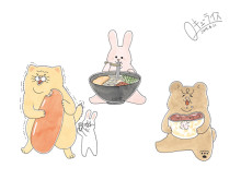 九州初開催!SNSで大人気の漫画家・キューライス氏の原画展