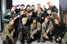 【THE MUSIC DAY】THE RAMPAGE、GENERATIONSと共演パフォーマンス「Jr.EXILE世代を盛り上げられるように」