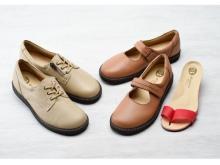女性の足の悩みを軽減!鼻緒に着目した婦人靴「ハナオエルゴ」