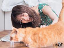 """""""愛猫家""""指原莉乃、タレント猫「りのちゃん」と共演 壮大な猫愛を語る"""