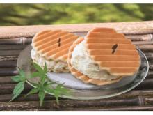 大人気「千寿せんべいアイスクリーム」が関西の百貨店に登場