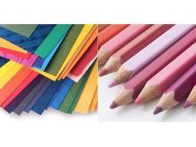 「500色の色えんぴつ」&「500種類の紙」を大阪で体験!