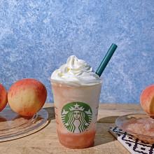 【スタバ新作】昨年からグレードアップ!白桃まるごと「ピーチ オン ザ ピーチ フラペチーノ」を飲んできた♡