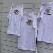 1500円の韓国っぽいプリント白T♩「GURU」さんオリジナルのTシャツがかわいすぎるんです