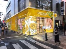 日本初のお楽しみがいっぱい♩ロクシタン、スパ&カフェ併設の体験型ストアが原宿表参道にOPEN