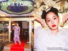 新木優子、モードなアジアンスタイルを披露 「かっこいいアジアンヒロインをイメージ」