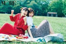 """ありさ&栞里""""佐藤姉妹""""が久々の復活「幸せいっぱいの撮影でした」"""