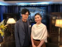 稲垣吾郎「大人っぽい字を書けるようになりたい」書家・中塚翠涛氏と『ななにー』でトーク