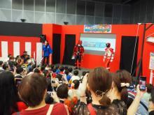 『仮面ライダー×スーパー戦隊 Wヒーロー』夏祭り開幕 最強フォームもズラリ