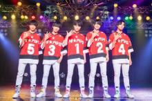 東海発5人組・Hi☆Five、初のワンマンで700人熱狂 CM出演もサプライズ発表