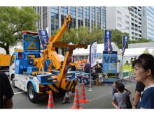 JAFレッカー車の展示やVR体験も!「まつり宮崎2019」開催