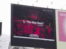 ONE OK ROCK、全41曲分のライブ写真広告が出現 電話をかけてより楽しめる