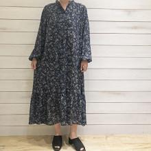 【#GU新作 】裾ティアードのペイズリー柄ワンピをGET♡1枚でワンピース、羽織りとして着られて重宝します