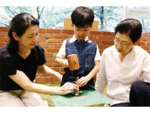 3世代でものづくり体験!「敬老の日WORKSHOP」開催
