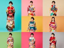 久間田琳加、振袖を初デザイン&プロデュース「胸が高まるような気持ち」