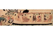 江戸東京博物館で「浮世絵と邦楽-隅田川をめぐって-」上演