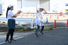 『24時間駅伝』タスキは水卜麻美アナへ 今朝は「飛び跳ねるぐらい」の元気さ