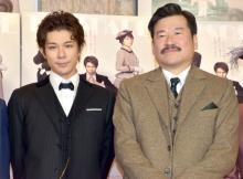 佐藤二朗、年越しに柿澤勇人とサシ飲みで男の約束「俺がお前を最高のホームズにしてやる」
