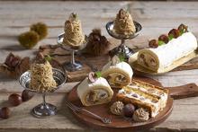 キハチカフェ、秋限定スイーツはパフェもパイも栗づくし♡横浜エリア初の新店舗では秋メニューが先行発売!