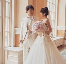 濱口優&南明奈、結婚披露宴を報告「ずっと憧れだったディズニーウェディング」