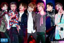 BTS 韓国歌手初の米スタジアム公演を完全ノーカット放送 涙を必死にこらえる姿も