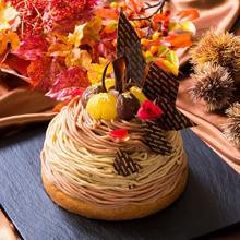 お祝いごとやご褒美スイーツに♩リーガロイヤルホテル東京に3ヶ国の栗が競演するブリリアントなモンブランが登場!
