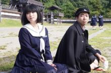 柄本時生、麿赤兒の学生時代役で『ルパンの娘』ゲスト 深田恭子のセーラー服姿も公開